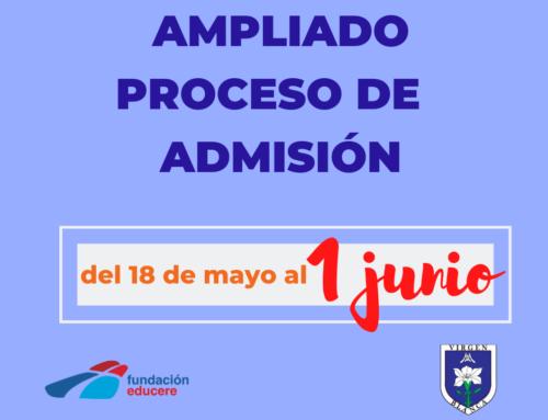 PROCESO ADMISIÓN CURSO 2020-21