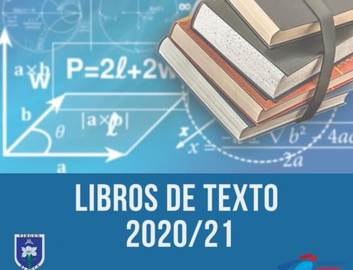 LIBROS DE TEXTO 2020/21